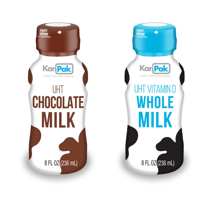The milk donation originates from KanPak U.S., a dairy products subsidiary of Golden State Foods, one of the largest diversified suppliers to the foodservice and retail industries.