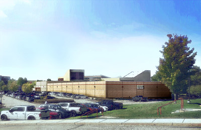 MSA Safety plans to expand its Cranberry Township manufacturing operations with the addition of new 20,000 square foot building.  Photo shown is an artist rendering of where and how the new building will be incorporated into MSA's Cranberry Woods Office Park campus.