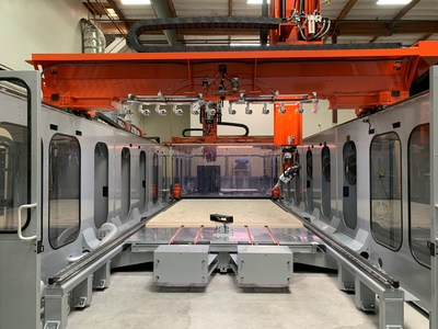 Ascent's large-format additive manufacturing machine.