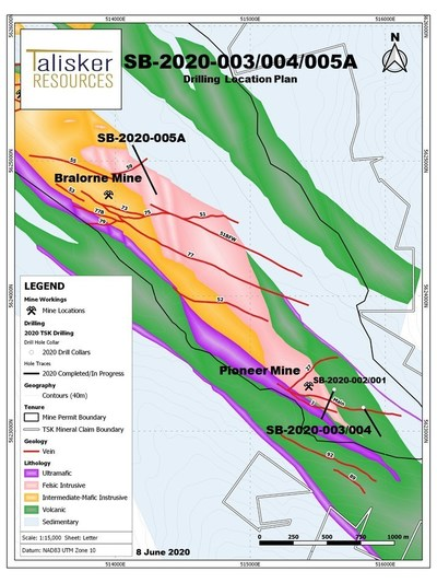 SB-2020-003/004/005A (CNW Group/Talisker Resources Ltd)