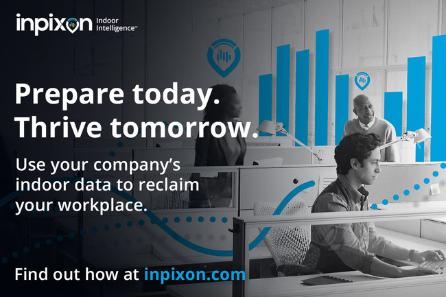 """Inpixon's """"Reclaim Your Workplace"""" campaign is designed to raise awareness of Inpixon Workplace Readiness solutions which include tools to support social distancing and contact tracing."""