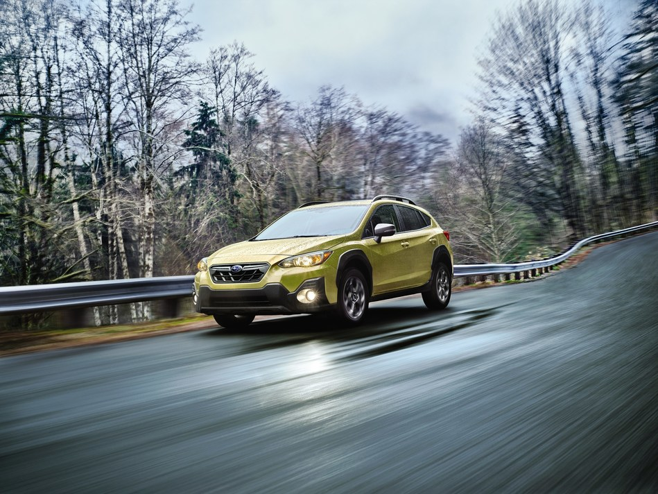 subaru announces 2021 crosstrek with newly available 25