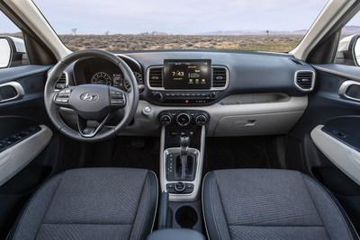 Interior del Hyundai Venue 2020