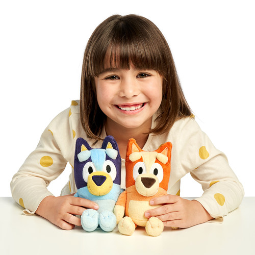 Australian Phenomenon Hit Bluey Launches Toys in the U.S. Sell Out Collection from Moose Toys Based on Hit Animated Series available on Disney Junior and Disney+. The Bluey toy collection features a line of plush, figures, playsets and games designed to spark imaginative play at home.