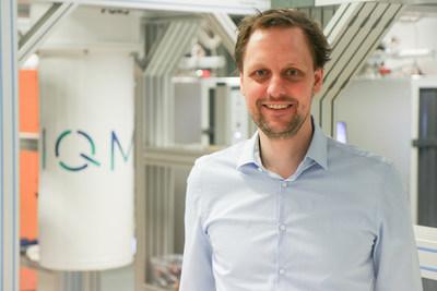 IQM's CEO and Co-founder Dr Jan Goetz at IQM's new lab, in Espoo, Finland (PRNewsfoto/IQM Finland Oy)