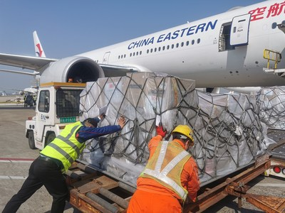 China Eastern Airlines: 200+ Medical Supply Flights to Europe
