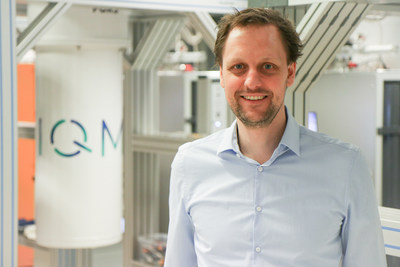 IQM's CEO and Co-founder Dr Jan Goetz at IQM's new lab, in Espoo, Finland (PRNewsfoto/IQM Finland Oy)