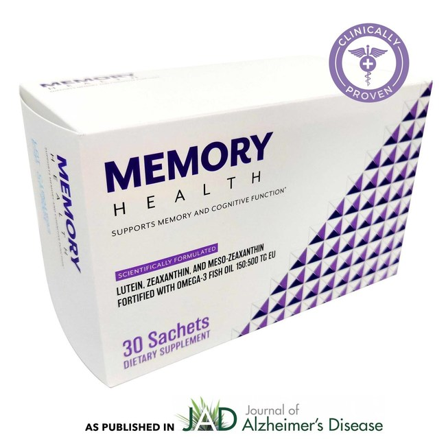 Memory Health® is a patented, nutritional supplement that is clinically proven to support long-term brain health. Learn more at www.memoryhealth.com.