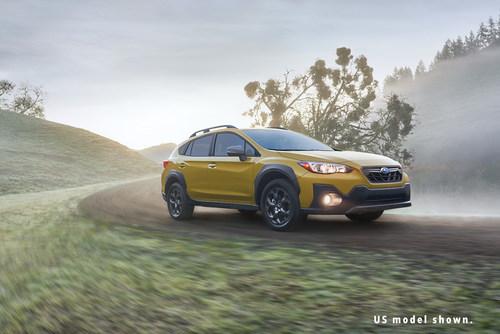 2021 Crosstrek Sport (US model shown) (CNW Group/Subaru Canada Inc.)