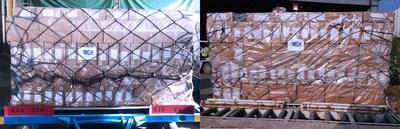 MGH巴基斯坦公司利用多架包机,向德国运送口罩