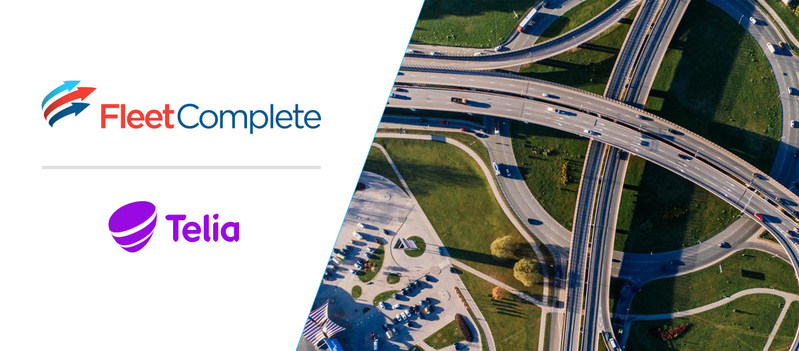 Telia Enterprise now includes the Fleet Complete® suite of solutions, expanding capabilities for Danish fleet-owning businesses and enterprises. (CNW Group/Fleet Complete)