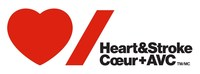 Logo: Heart & Stroke (CNW Group/Heart and Stroke Foundation)