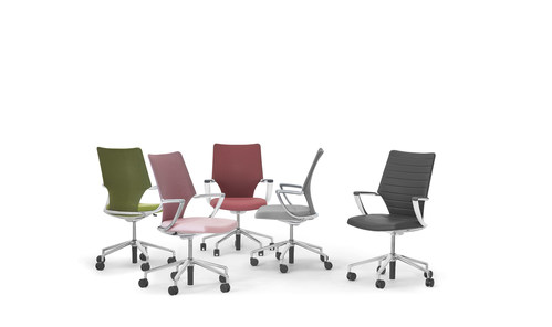 Keilhauer introduces the carbon neutral Swurve Chair (CNW Group/Keilhauer)
