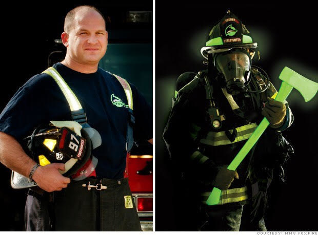 Zachary Green is U.S. Marine veteran-turned firefighter-turned entrepreneur developing glow-in-the-dark, life-saving products and signage. His latest battle is making shields to guard people from COVID-19 and other contagions.