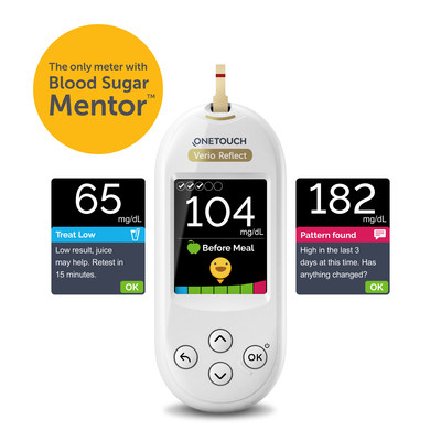 Blood Sugar Mentor™ feature offers patients personalized guidance, insight, and encouragement so they can take action to help avoid highs and lows.