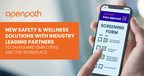 Openpath Announces new Safety & Wellness Solutions with Industry Leading Partners to Safeguard Employees and the Workplace