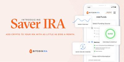 Saver IRA, from Bitcoin IRA