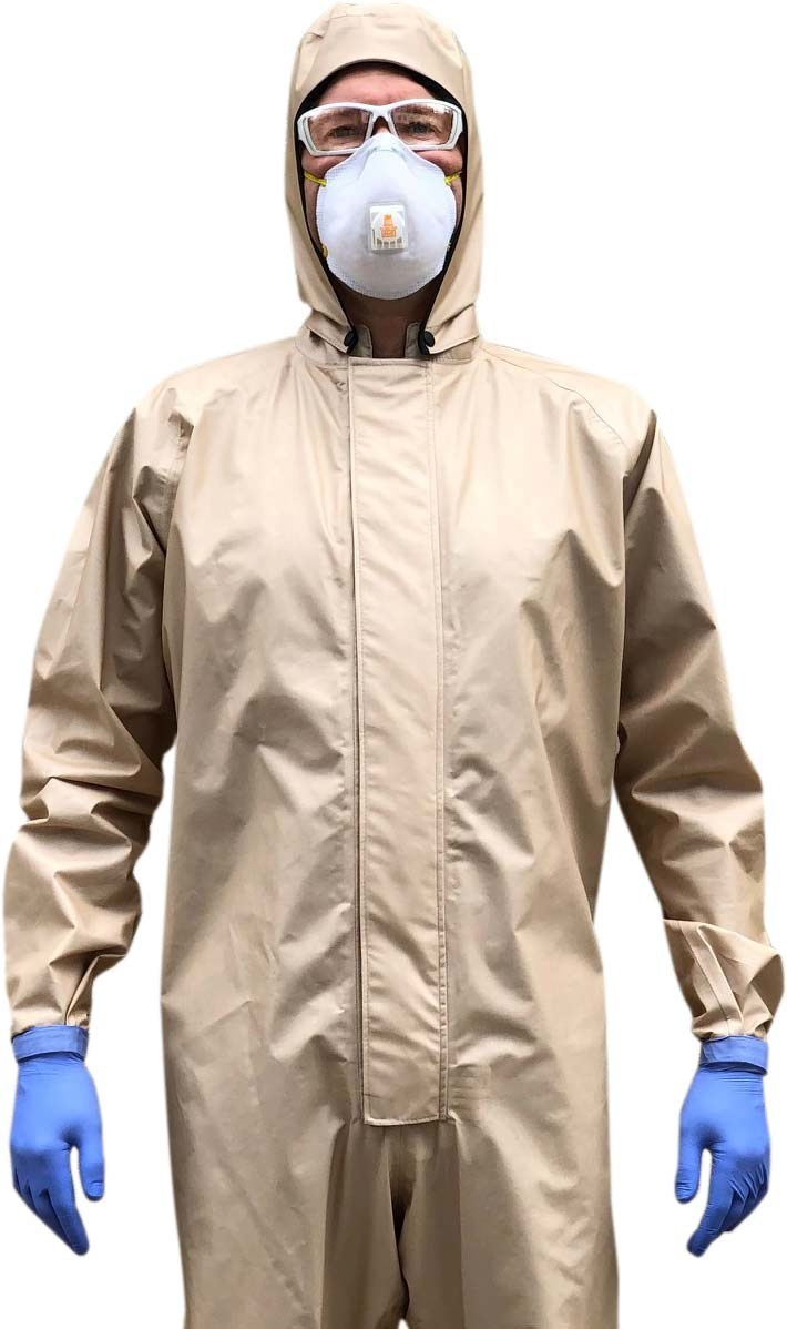 Blauer's NFPA 1999 BIO-99 suit is reusable COVID-19 PPE for first responders.  Visit blauer.com/bio-99 for more information.
