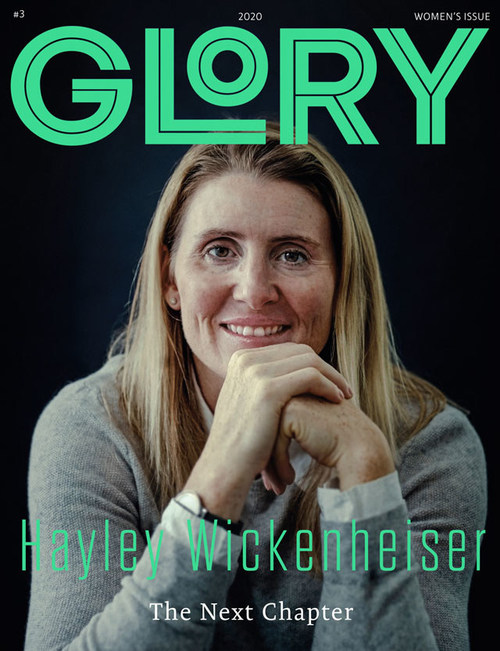 GLORY Women Who Lead issue, featuring Hayley Wickenheiser (CNW Group/GLORY)