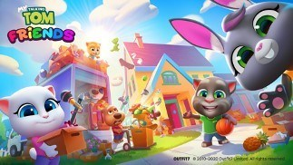 My Talking Tom Friends Is Available Worldwide from Google Play and App Store Now
