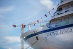 Viking Marks Float Out Of Seventh Ocean Ship
