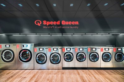 Speed Queen®, the global leader in vended commercial laundry, has redefined the customer experience with premium stores including IoT technology and customer app. Recently, the company claimed another milestone with the 700th Speed Queen-branded store opening in Orbassano, Italy.