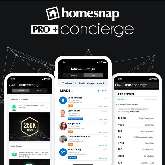 Introducing Homesnap Pro+ Concierge