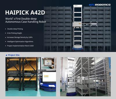 ACR HAIPICK A42D de fundo duplo em operação