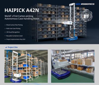 ACR HAIPICK A42N para coleta de embalagens