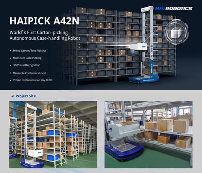 ACR para selección de cajas HAIPICK A42N