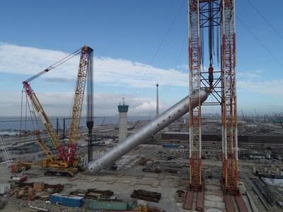 Sinopec conclui instalação do maior reator de hidrogenação do mundo (PRNewsfoto/Sinopec)