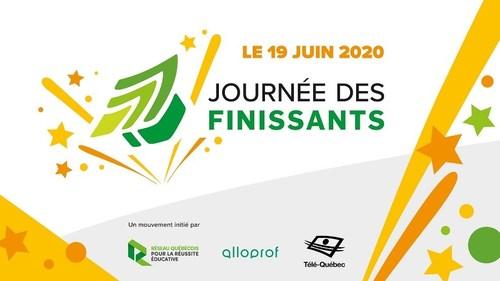 Journée des finissants - Le 19 juin: célébrons ensemble la réussite de nos jeunes ! (Groupe CNW/Réseau québécois pour la réussite éducative)