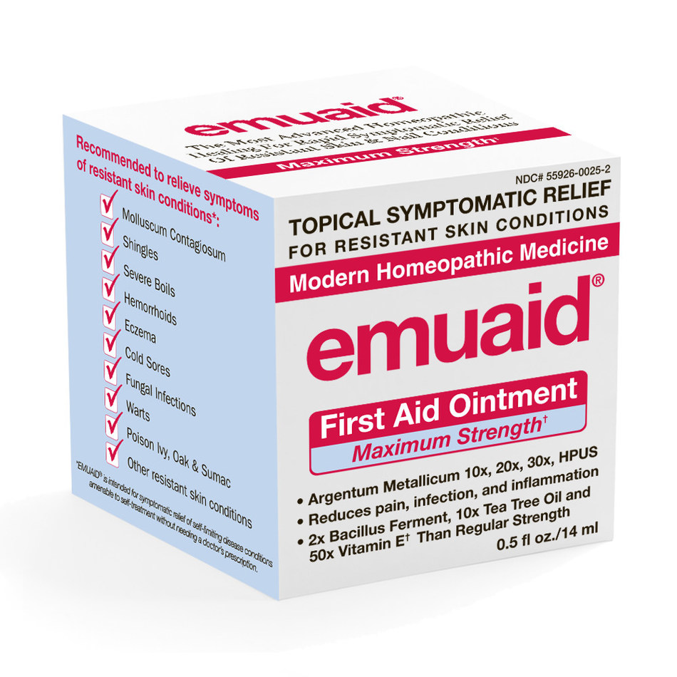 EMUAIDMAX First Aid Ointment 0.5 oz in unit carton