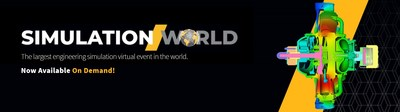 Ansys' Simulation World content now available on demand
