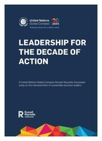 Leadership for the Decade of Action 2020