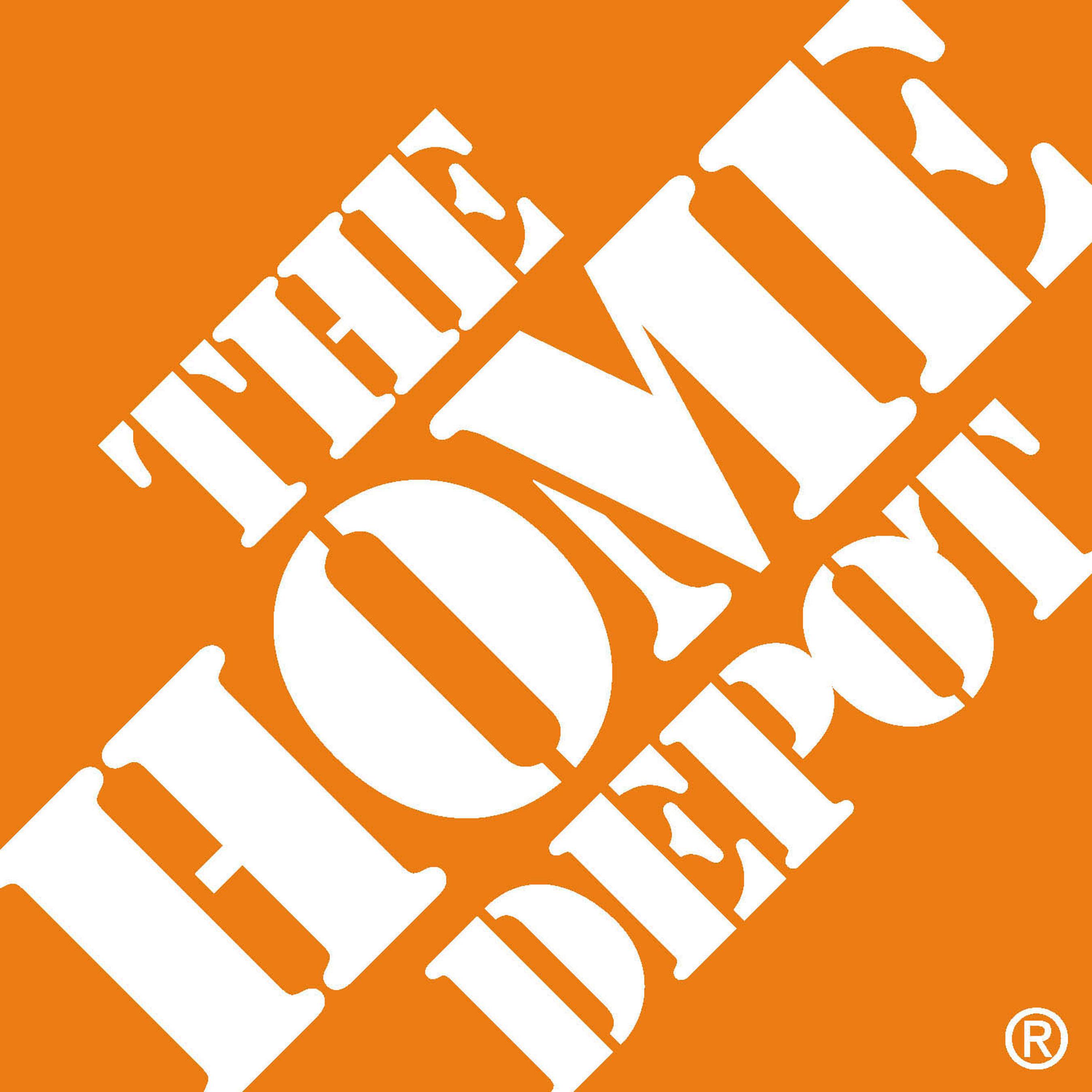 The Home Depot logo.