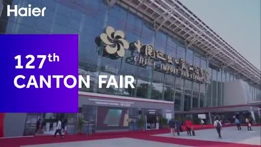 Haier, GE Appliances, Fisher & Paykel, AQUA, and Candy unveil their scenario-based smart home solutions at this year's entirely digital convention at 127th Canton Fair.