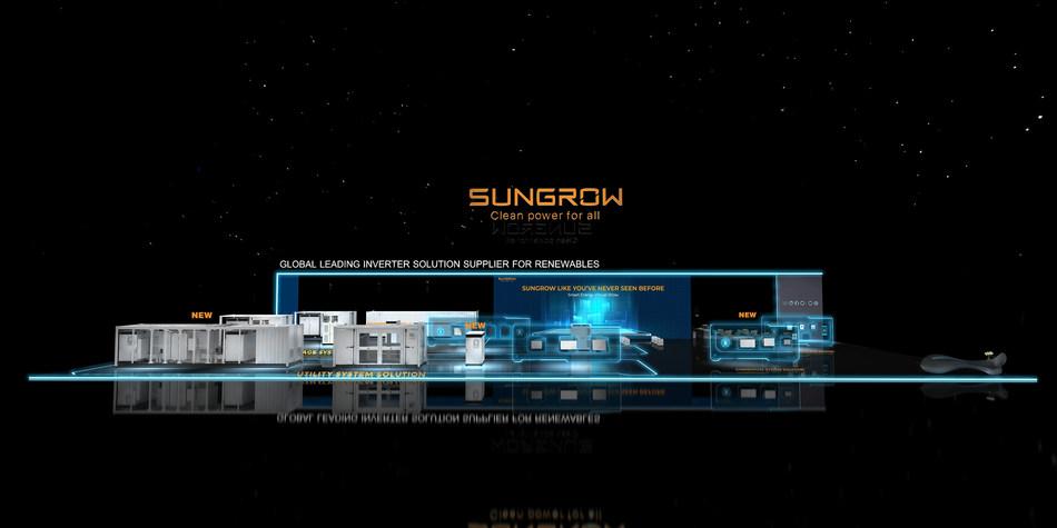 Sungrow Virtual Booth (PRNewsfoto/Sungrow Power Supply Co., Ltd)