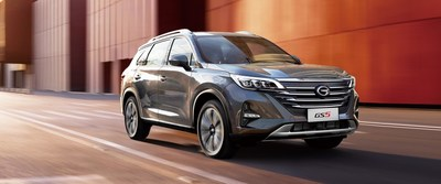The new GS5 SUV is expected to become the third model of GAC MOTOR in Russia.