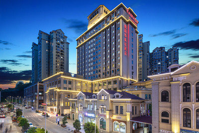 Situated southeast of Chengdu, the capital of Sichuan province, the Ramada by Wyndham Jianyang is the first international five-star hotel in Jianyang city and offers 191 spacious rooms and suites.