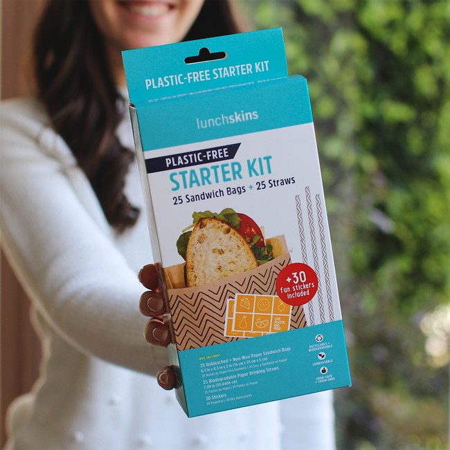 Lunchskins Plastic-Free Starter Kit