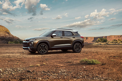 Hankook Tire will be supplying the all-new 2021 Chevy Trailblazer in ACTIV trim with the Dynapro AT2.