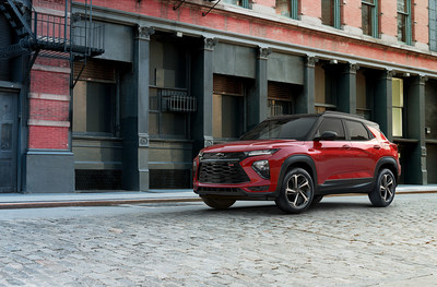 Hankook Tire will be supplying the all-new 2021 Chevy Trailblazer with the Kinergy GT across RS and base trim levels.