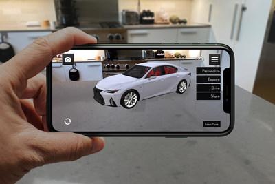 """Lexus presenta aplicación """"Lexus AR Play"""" para lanzamiento del nuevo IS 2021"""