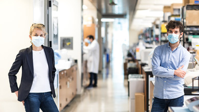 Director of the Gladstone Institute of Virology Melanie Ott and Postdoctoral Scholar Albert Vallejo-Gracia discovered a critical role for a cell stress pathway in HIV latency.