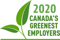 Canada's Greenest Employers (CNW Group/Mediacorp Canada Inc.)