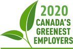 Change is also coming as more organizations focus on a sustainable future: 'Canada's Greenest Employers' for 2020 are announced