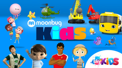 Moonbug lanza el canal Kids en Sky Kids