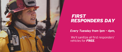 AutoNation Offers FREE Vehicle Sanitization for First Responders