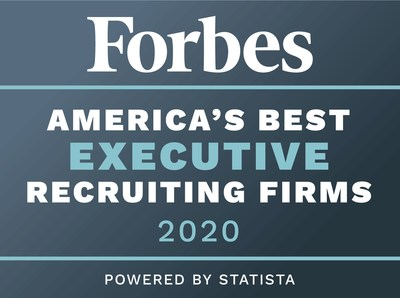 FORBES ranks Barbachano International as America's Best Executive Search Firms in 2020 for Fourth Consecutive Year